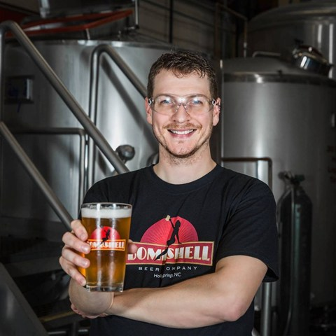 Head Brewer, Devin Singley