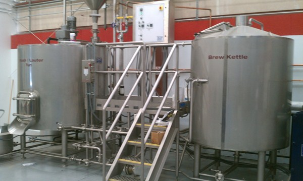 Brewhouse installed